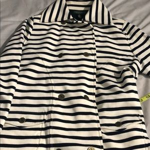 Ralph Lauren double breasted striped jacket